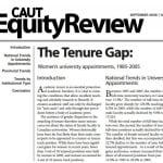 Équité en matière d'emploi – Femmes nommées à des postes universitaires