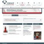 Bibliothèque virtuelle du CDÉACF