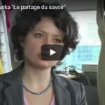 Joanna Berzowska «Le partage du savoir»