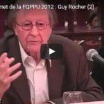 Sommet de la FQPPU 2012 : Guy Rocher (2)